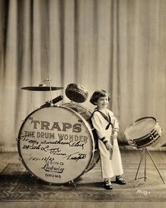buddy rich, age 6 // 1923