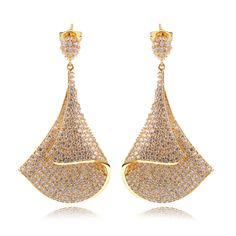 Find More Drop Earrings Information about Latest Design Gold Plated & Platinum Plated Luxury Cubic Zirconia Earrings Wedding Vintage Earring for Women Classic Jewelry,High Quality Drop Earrings from ASM Fashion Jewelry on Aliexpress.com