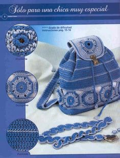 Marvelous Crochet A Shell Stitch Purse Bag Ideas. Wonderful Crochet A Shell Stitch Purse Bag Ideas. Crochet Shell Stitch, Knit Or Crochet, Crochet Handbags, Crochet Purses, Crochet Bags, Handmade Kids Bags, Mochila Crochet, Crochet Backpack, Crochet Purse Patterns