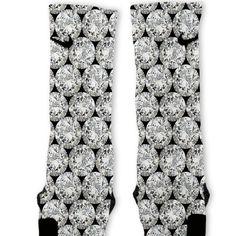 Diamonds Customized Nike Elite Socks – Fresh Elites