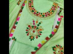 Suits & Dress Materials Tulip Prints Women's Green Embroidered Unstiched Dress Material Top Fabric: Chanderi Silk + Top Length: 2.2 Meters Bottom Fabric: Shantoon + Bottom Length: 2.26-2.50 Dupatta Fabric: Chiffon + Dupatta Length: 2.9 Meters Lining Fabric: Shantoon Type: Un Stitched Pattern: Embroidered Multipack: Single Country of Origin: India Sizes Available: Un Stitched   Catalog Rating: ★4 (447)  Catalog Name: Free Gift Abhisarika Graceful Salwar Suits & Dress Materials CatalogID_1480444 C74-SC1002 Code: 374-8691989-3711