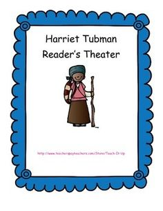 $ An awesome Reader's Theater reviews some of the history of Harriet Tubman for primary students! A great way to increase fluency and learn history too!