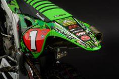 Kawasaki KX-450F Ryan Villapoto San Diego 2014 - Supercross USA