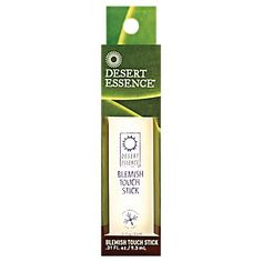 Buy Blemish Touch Stick (0.33 Fluid Ounces Stick(S)) from the Vitamin Shoppe. Where you can buy Blemish Touch Stick and other Desert Essence products? Buy at at a discount price at the Vitamin Shoppe online store. Order today and get free shipping on Blemish Touch Stick (UPC:718334220697)(with orders over $35).
