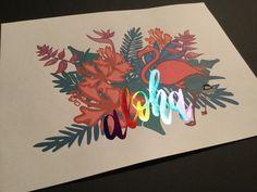 he preparado unos diseños a todo color, con motivos veraniegos y muy actuales (cactus, unicornios, tropicales, piñas, flamencos,...) preparados para aplicar foil sobre una imagen a color. Tropical, Cactus, Moose Art, Animals, Flamingos, Unicorns, Appliques, Colors, Animales
