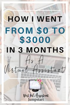 Learn how you can become a Virtual Assistant, leave the 9 to 5 and be your own boss!