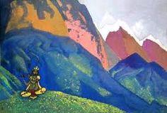 Krishna by Roerich- both Messenger of the Great Teachers of Shambala Nicholas Roerich, Siya Ke Ram, Symbolic Art, Radhe Krishna, Paintings I Love, Art And Architecture, Great Artists, New Art, Amazing Art