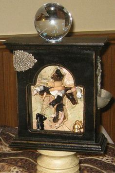 """""""It is Finished"""", Found Object Art, Assemblages by Roberta Karstetter"""