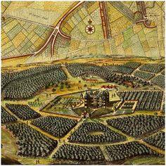 London, ca. 1700, Old City Plan close up https://www.battlemaps.us/