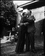 Alexander KORNEICHUK and John STEINBECK. - Robert Capa - USSR. 1947 #O.Lettera-Ti @Libriamo Tutti