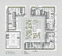 p ideas Residential complex in Kiev Architecture Residential Architecture plan Plan Autocad, Site Plan Drawing, Architecture Résidentielle, Architecture Drawings, Residential Complex, Site Plans, Urban Planning, Photoshop, Planer