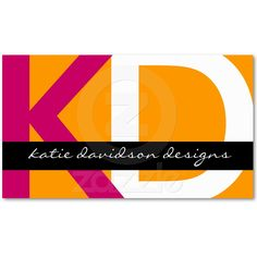 Modern Business Cards from Zazzle.com