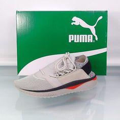 ded2ff450d75 New Mens Puma Tsugi Shinsei Cubism Running Sneaker 365493-02 Gray MSRP  130