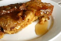 Crock pot French toast....use egg whites and sugar free syrup