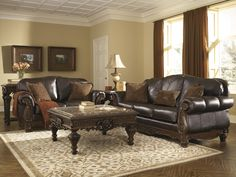 Sagen Stationary Living Room Group By Signature Design Ashley Part Of The Collection Sku 93901 3 Store Availability