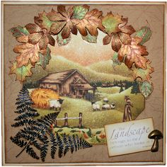 This is the gorgeous new Old Barn designed by Sharon Bennett for Hobby Art. Clear set contains 17 stamps. Overall size of set - 100mm x 260mm approx. All our clear stamps are made with photopolymer resin. This was the Monthly Special for February 2015. This Gorgeous card was made by Sally Dodger
