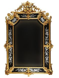 Louis XVI giltwood pier mirror Circa 1920's