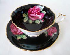 Tea Cup Set, Tea Cup Saucer, Tea Time, Coffee Cups, Tea Pots, Hand Painted, China, Dishes, Chocolate