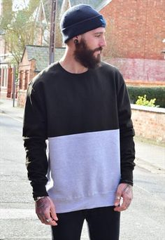 7fbd7f337e0d93 Vintage+Retro+TWIN+PACK+Jumper+Sweaters Mens Sweatshirts, Retro Vintage