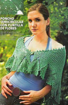 Mantelli e simili Crochet