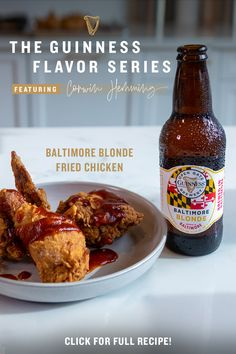 Your dinner plans are about to change thanks to the Guinness Flavor Series. Our brilliant chef partners continue to challenge what we think we know about taste and flavor while bringing some surprising inspiration to your kitchen with Guinness. Chef Corwin Hemming's Baltimore Blonde Fried Chicken shines a spotlight on his southern Georgia roots and time spent in Korea, while our Guinness Baltimore Blonde adds citrus and hoppy notes to the chicken. Try it at your next backyard get-together! Quick Chicken Curry, Cajun Chicken Pasta, Chicken Pasta Recipes, Fried Chicken, Keto Recipes, Dinner Recipes, Cooking Recipes, Perfect Food, Love Food