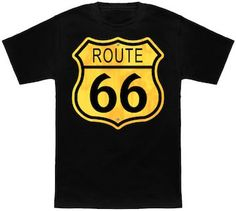 Route 66 Sign T-Shirt.