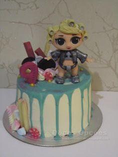 Doces Opções: Bolo de aniversário LOL Surprise! Bolo Fresco, Red Velvet, Chocolate, Lol, Cake, Desserts, Sugar Free Cakes, Birthday Cakes, Lactose Free Cakes