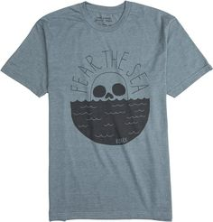Roark Fear The Sea graphic tee shirt http://www.swell.com/Mens-Apparel-New-Products/ROARK-FEAR-THE-SEA-SS-TEE-1?cs=HL