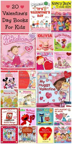 20 good reads to share with your little Valentine - Valentine's Day Books for kids
