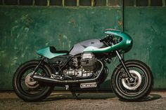 The Fragore Moto Guzzi SP3 Cafe Racer by IMB.14 and An-Bu Custom Moto…