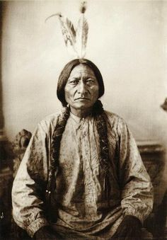 Sitting Bull - now that's a cool kat.