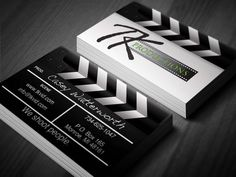 cinematography business card template card templates business
