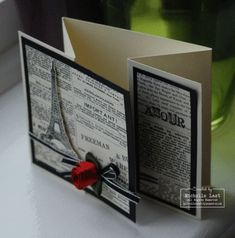 I like this type of folding card