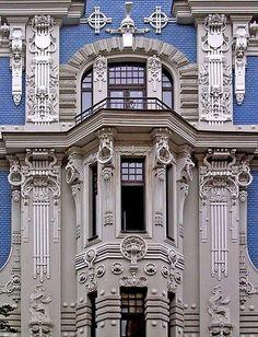 Jugendstil, Riga, Latvia