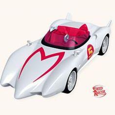 2008 Hallmark Ornament ~ SPEED RACER~THE MACH 5 Car -own