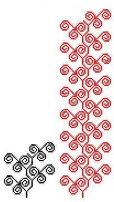 MP478 Cross Stitching, Cross Stitch Embroidery, Embroidery Patterns, Cross Stitch Patterns, Mini Christmas Stockings, Bordados E Cia, Crochet Chart, Cross Stitch Flowers, Needle And Thread