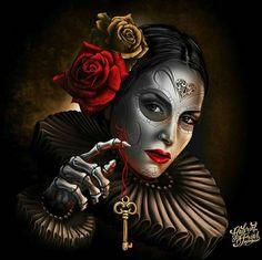 Cholo Art, Chicano Art, Aztecas Art, Azteca Tattoo, Latino Art, Lowrider Art, Brown Pride, I Love My Wife, Goth Beauty