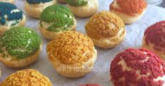 New Ideas For Appetizers Gourmet Recetas Yummy Snacks, Snack Recipes, Dessert Recipes, Cooking Recipes, Indonesian Desserts, Asian Desserts, Puff And Pie, Donuts, Cream Puff Recipe