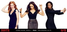 Donna.Rachel.Jessica | Suits | Rachel's skirts are amazing