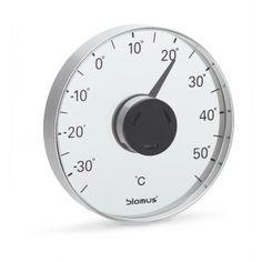Fönstertermometer Grado från Blomus, borstat rostfritt stål www.globalxdesign.se