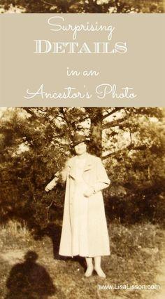 Surprising Details In An Ancestor's Photograph #genealogy #familyhistory #ancestors #areyoumycousin