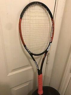 *New Prince Airo Tennis Racquet Cover Case Black Ships super fast.