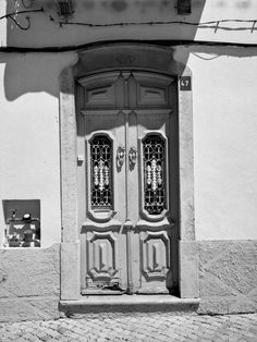 From a series doorways in the old part of Albufeira, Portugal