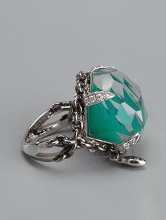 Stephen Webster 'murder She Wrote' Haze Ring - Jewellery Atelier - Farfetch.com