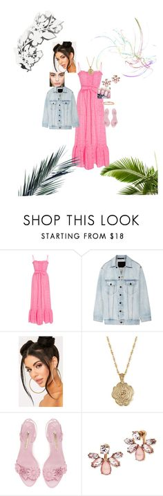 """""""Relaxing day at the beach"""" by bishpleaseimaprincess on Polyvore featuring Lisa Marie Fernandez, Alexander Wang, 2028, Marchesa, Bling Jewelry and Élitis"""