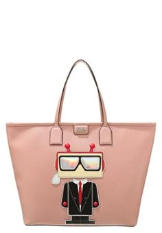 KARL LAGERFELD Tote bag - misty rose £220.00 #BestReviews #fashion! #ReviewsClothing