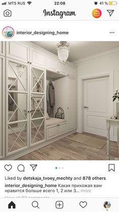Bedroom False Ceiling Design, Interior Design Living Room, Living Room Designs, Wardrobe Door Designs, Closet Designs, Studio Apartment Layout, Decoration Entree, Small Apartment Living, House Entrance