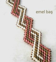 Superduo bracelet by Emel Bas from Ankara / Turkey