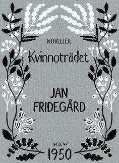 Henning Trollbäck, illustration, book cover, design, print, flowers, wreath, type