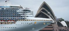 A total of 158 people contracted norovirus gastroenteritis on a Diamond Princess cruise ship that docked in Sydney, Australia on Sunday, AOL Travel reported.
